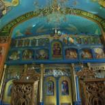 Naosul Bisericii Sfintii Arhangheli - Catapeteasma