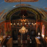Naosul Bisericii Sfintii Arhangheli - Pruni